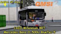 OMSI 2  Caio Millennium BRT Mercedes-Benz O-500U BlueTec 5