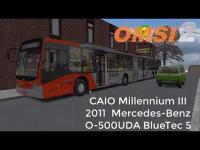 OMSI 2 – CAIO Millennium III Mercedes-Benz O-500UDA BlueTec 5