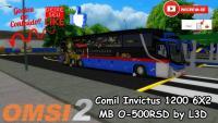 OMSI 2 – Comil Invictus 1200 6X2 MB O-500RSD by L3D