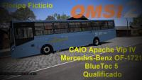 [OMSI 2] CAIO Apache Vip IV Mercedes Benz OF 1721 BlueTec 5 Qualificado