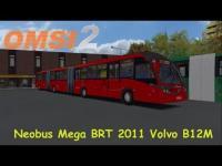 OMSI 2 – Neobus Mega BRT 2011 Volvo B12M