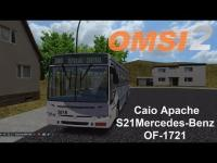 OMSI 2 Caio Apache S21 Mercedes Benz OF 1721