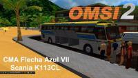 OMSI 2 CMA Flecha Azul VII Scania K113CL