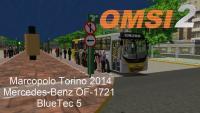 OMSI 2 Marcopolo Torino 2014 Mercedes Benz OF 1721 BlueTec 5