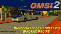 [OMSI 2] Marcopolo Torino G7 VW 17 230 PADRÃO RECIFE