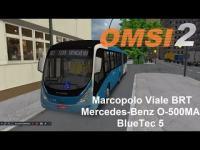 OMSI 2 Marcopolo Viale BRT Mercedes Benz O 500MA BlueTec 5
