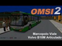 OMSI 2 Marcopolo Viale Volvo B10M Articulado