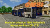 OMSI 2 Busscar Urbanus 1994 Articulado Mercedes Benz OF 1721