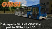 OMSI 2 Caio Apache Vip I MB OF 1722M padrão SP / Tupi by: L3D
