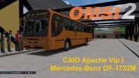 OMSI 2 CAIO Apache Vip I Mercedes Benz OF 1722M