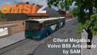 OMSI 2 Ciferal Megabus Volvo B58 Articulado by SAM