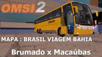 OMSI 2 – MAPA Brasil Viagem BA BAHIA – Viagem completa : Brumado x Macaúbas