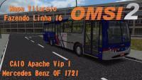 OMSI 2 CAIO Apache Vip I  Mapa Vilarejo  Fazendo Linha 16