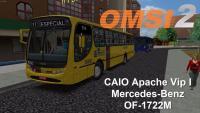 OMSI 2 CAIO Apache Vip I Mercedes Benz OF 1722M Padrão RECIFE Lançamento do mapa Costinha