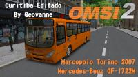 OMSI 2  Marcopolo Torino 2007 MB OF 1722M MAPA Curitiba By Geovanne