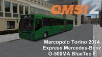 OMSI 2 Marcopolo Torino 2014 Express Mercedes-Benz O-500MA BlueTec 5