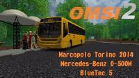 OMSI 2 Marcopolo Torino 2014 Mercedes Benz O 500M BlueTec 5