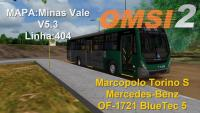 OMSI 2 Marcopolo Torino S Mercedes Benz OF 1721 BlueTec 5