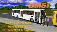 OMSI 2 Neobus Mega 2006 Mercedes Benz OF-1722M/59 Alongado