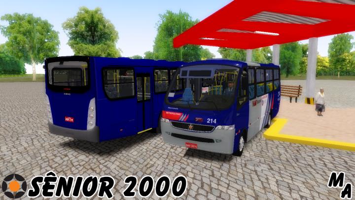 MARCOPOLO SÊNIOR 2000 I VW 9-150 OD I MAPA BRIGADEIRO