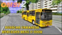 OMSI 2 Busscar Urbanuss Mercedes Benz O 500M