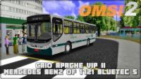 OMSI 2 CAIO Apache Vip II Mercedes Benz OF 1721 BlueTec 5