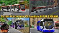 OMSI 2 Curitiba Ficticio Linha 050 Com Viale BRT MB O500MDA