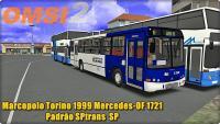 OMSI 2 Marcopolo Torino 1999 Mercedes OF 1721  Padrão SPtrans  SP