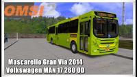 OMSI 2 Mascarello Gran Via 2014 Volkswagen MAN 17 260 OD