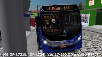PACK Mascarello Gran Via 2014 MB OF-1721L, OF-1724, VW 17-260 OD, Volvo B270F