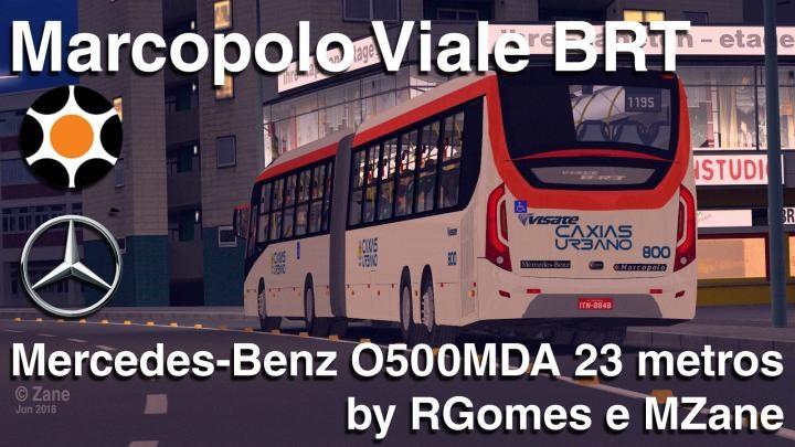 Marcopolo Viale BRT Mercedes-Benz O500MDA 23m