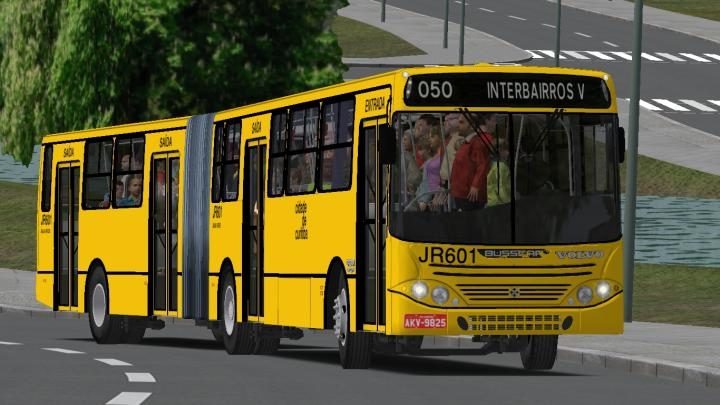 Busscar Urbanuss Volvo B10M ZF padrão Curitiba OMSI2_20180806_170642-720x405