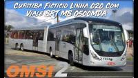OMSI 2 Curitiba Ficticio Linha 020 Com Viale BRT MB O500MDA