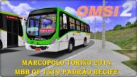 OMSI 2 MARCOPOLO Torino 2014 MBB OF 1519 PADRÃO RECIFE