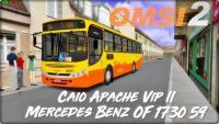 #OMSI_2 Caio Apache Vip II Mercedes Benz OF-1730/59