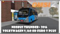 #OMSI_2 Neobus Thunder+ 2016 Volkswagen 9,160 OD Euro V Plus