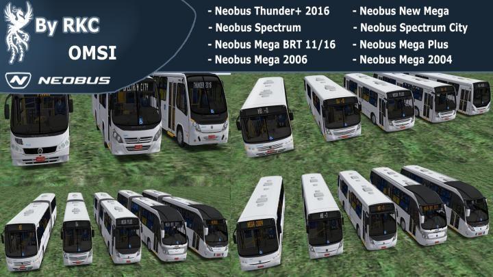 Neobus Pack – OMSI 1e2