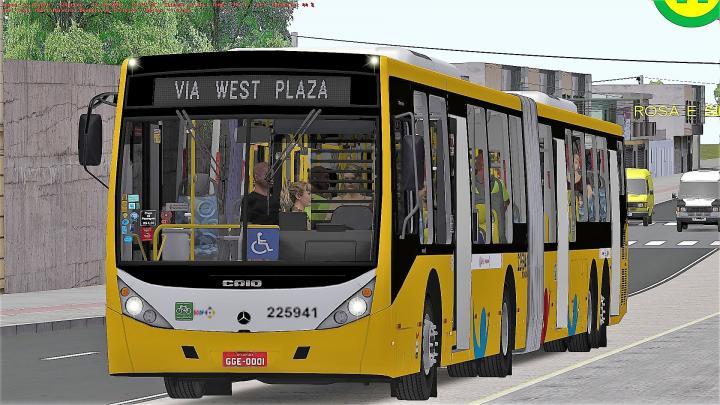 BRT de Brasilia – Skin Viação Pioneira BRT – Mapa Sp Area 1