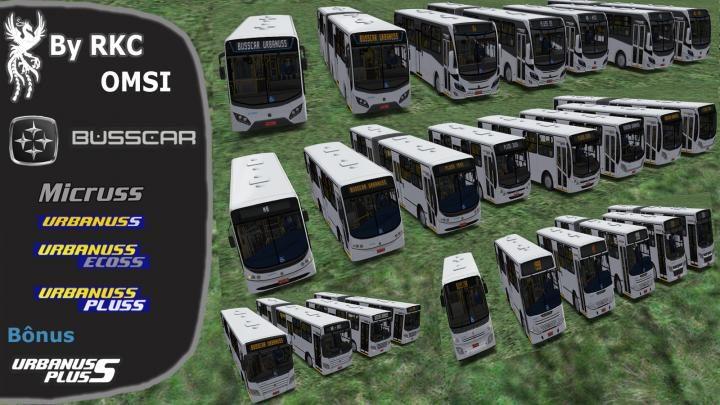 Busscar Urbanuss Pack – OMSI 1e2