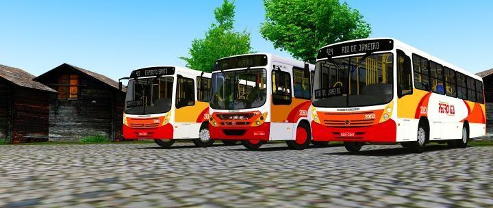 Neobus Mega 2006 MB OF-1418/1722M Padrão Petro Ita 20181223224425_1-720x304