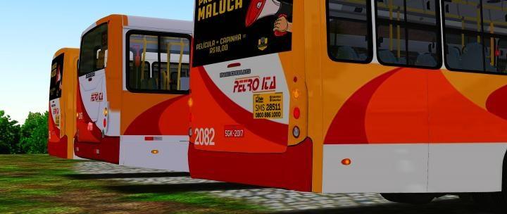 Neobus Mega 2006 MB OF-1418/1722M Padrão Petro Ita 20181223224558_1-720x304