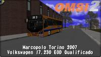 OMSI 2 Marcopolo Torino 2007 Volkswagen 17.230 EOD Qualificado