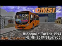 OMSI 2 – Marcopolo Torino 2014 MB OF-1519 BlueTec5 (BI850 – T.C.Glória)