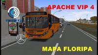 Mapa Floripa- Caio Apache Vip 4 1721- GI008