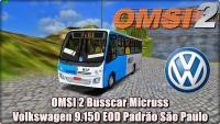 OMSI 2 Busscar Micruss Volkswagen 9.150 EOD Padrão São Paulo