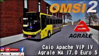 OMSI 2 Caio Apache VIP IV Agrale MA 17.0 Euro 5 Padrao SP