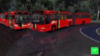 [OMSI 2] LANÇAMENTO torino 1999 articulado VW 17.210 EOD (+G27) Metropolitana + chuva forte