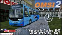 OMSI 2 Marcopolo Torino 2007 MB OF 1722M Ano 2011
