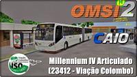 OMSI 2 – CAIO Millennium IV Articulado (23412 – Viação Colombo)