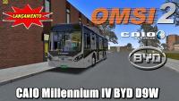 OMSI 2 CAIO Millennium IV BYD D9W